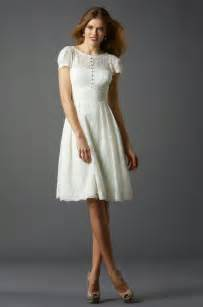 Modern short wedding dresses with short sleeves ideas photos hd