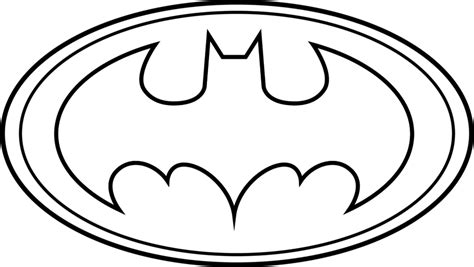 Symbol Template batman symbol printable template clipartsgram