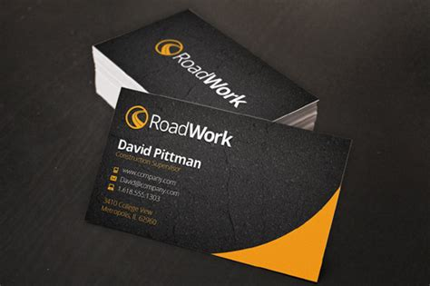 construction business cards templates photoshop 125 free business cards psd for photoshop review