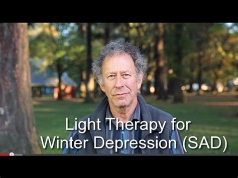 light therapy l for depression light therapy for winter depression youtube