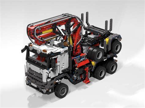 Kran Air Elite lego moc 5890 42043 langholzlaster timber truck