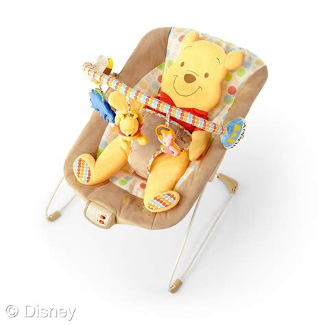 winnie the pooh bouncy chair disney baby winnie the pooh baby bouncer momstart