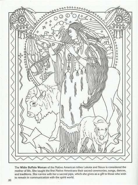 american coloring book white buffalo american goddess challenging