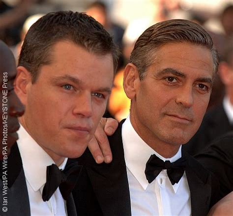 george clooney and matt damon matt damon and george clooney respond to weinstein