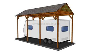 how to build an attached carport howtospecialist how