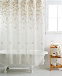 macy s bathroom sets martha stewart collection falling petals shower curtain