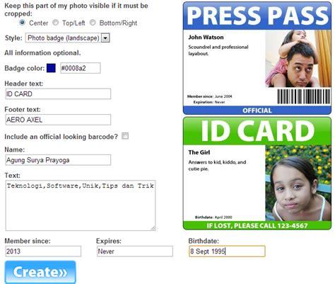 membuat kartu kuning secara online aero axel cara membuat kartu nama secara online