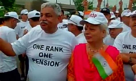 one rank one pension orop implementation 26022016 one rank one pension ex servicemen demand implementation