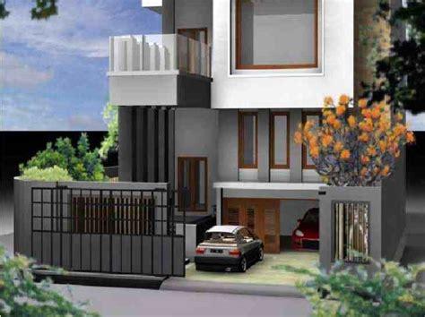 desain garasi mobil di belakang rumah contoh desain garasi rumah minimalis sederhana modern