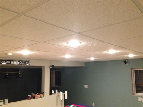 Basement Drop Ceiling Ideas New Basement And Tile Drop Ceiling Lighting Options