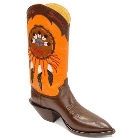 native american boats native american caboots custom cowboy boots