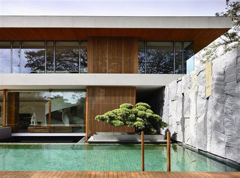 nature themed house modern nature inspired 65btp house by ong ong
