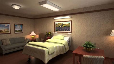 decorate a hospital room rm design studio architectural hospital room rendering