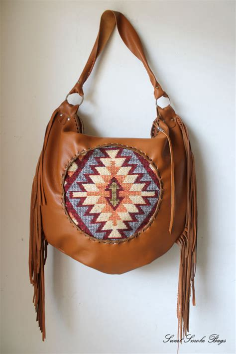 Baru Diamore Top Tassel Order oversized hobo southwestern western navajo leather aztec bag turkish kilim bohemian festival