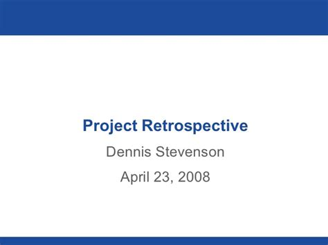 project post mortem template post mortem template