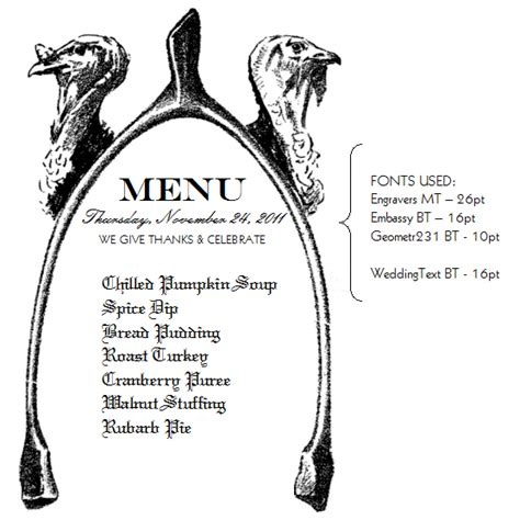 thanksgiving menu template printable 7 best images of printable thanksgiving menu template