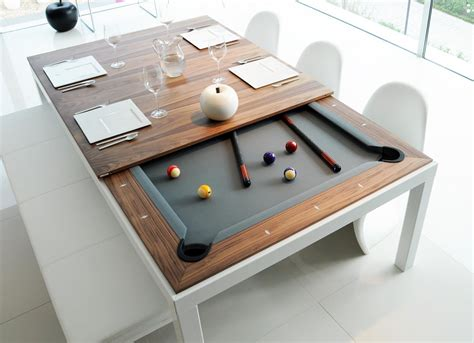 Dining And Pool Table Combination Fusion Tables Dining Pool Table Combo