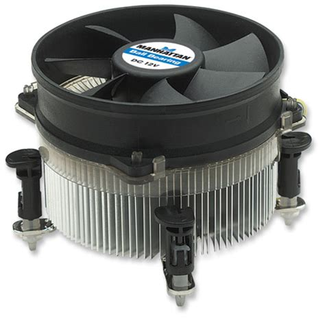 Cpu Cooler Lga Fan Lga775 Pc Cooler manhattan products socket lga 775 cpu cooler 703376