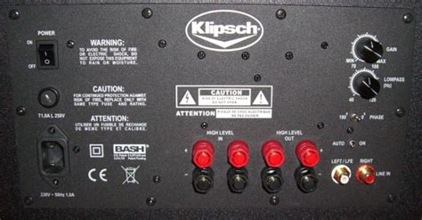 blown fuse  klipsch synergy  home theater