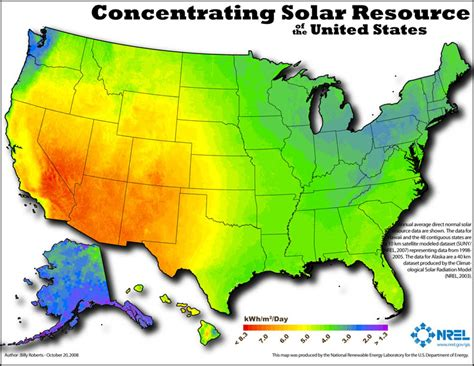 solar radiation map usa nrel dynamic maps gis data and analysis tools solar maps
