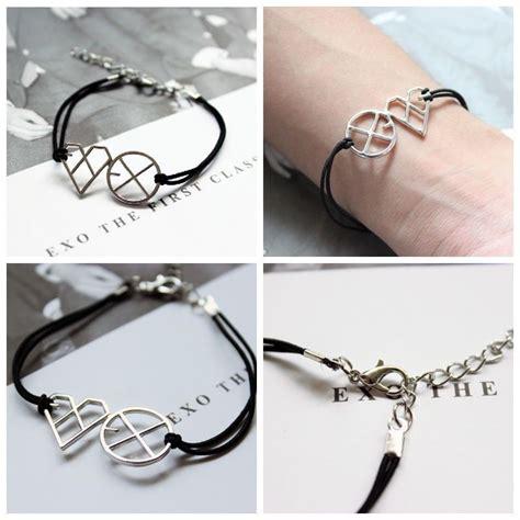 exo m exo k xoxo first year wolf alloy kpop bracelet kris