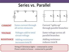 resistors in parallel and series current chapter 25 electric circuits ppt