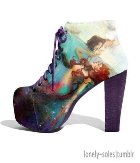 disney high heel shoes shoes disney high heels the mermaid bag coat