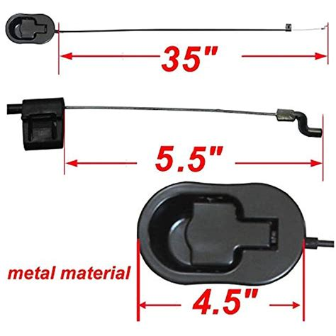 recliner replacement parts universal black metal pull