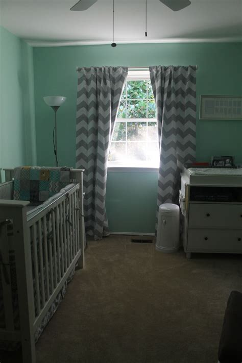 Chevron Curtains Nursery Grey And White Chevron Nursery Curtains Curtain Menzilperde Net