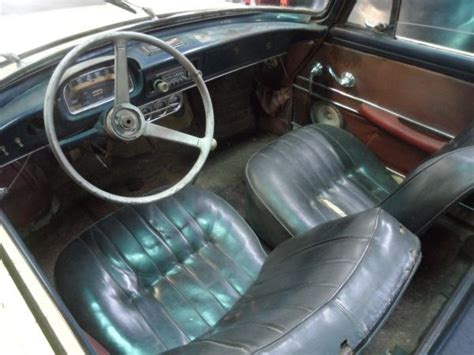 renault caravelle interior bug beater 1962 renault caravelle