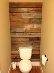wood wall bathroom wood pallet wall thanks to my husband beautiful