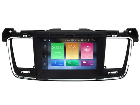 android player device android 6 0 car audio dvd player for peugeot 508 gps
