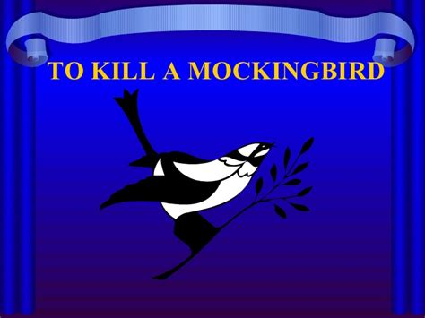 themes in to kill a mockingbird powerpoint to kill a mockingbird theme motifs symbols
