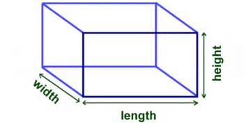 what is the length and width of a bed math finding the volume of a cube or box