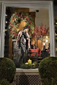 How To Decorate A Fireplace For Christmas ralph lauren windows london 187 retail design blog