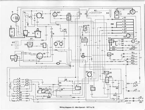 wiring diagram of 1977 1978 mini special circuit wiring