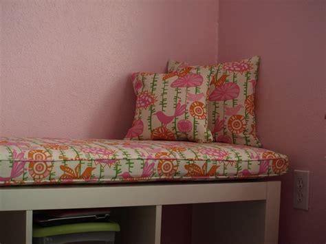 bench cushions indoor ikea ikea expedit custom cushion for nursery playroom