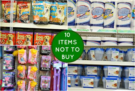 Things To Buy From An Store by 15 Items To Buy At Dollar Tree And 10 Items Not To Buy At
