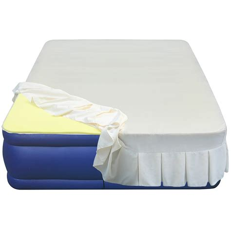 High Density Memory Foam Mattress Topper by Altimair Essentials Airbed High 1 Quot Density Memory Foam