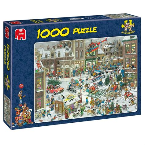 christmas 1000 piece puzzle jumbo from craftyarts co uk uk