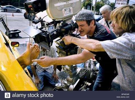On Set For Grindhouse And Director by Quentin Tarantino Grindhouse Quentin Tarantino S
