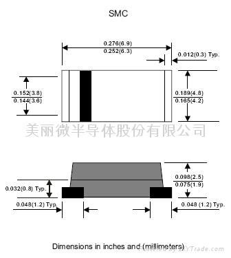schottky barrier switching diode schottky barrier diode sk34 formosams china manufacturer products