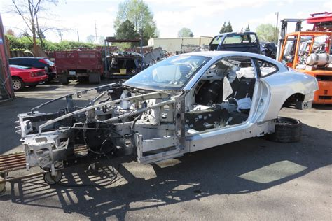 How To Section A Car by 05 612 Scaglietti Chassis Frame With Panel Sections Ebay