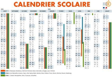 Calendrier R C Kouba 2015 Cr 233 Er Un Calendrier De L 233 E Scolaire 2015 2016 224