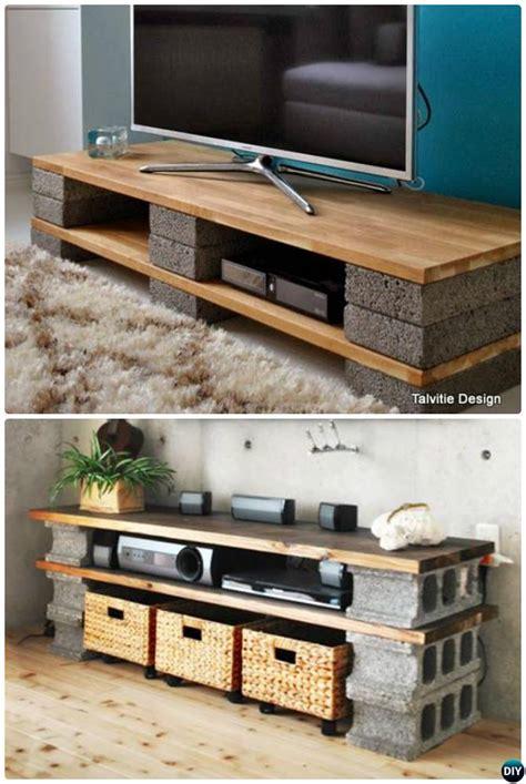 Cinder Block Bed Frame Diy Concrete Block Furniture Projects