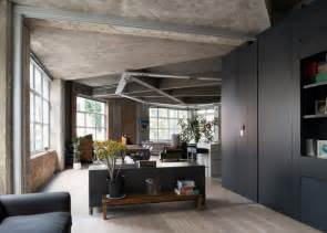 Concrete Apartments by Awesome Renovation Of A London Apartment With Concrete
