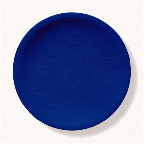Blue Plates - untitled blue plate yves klein wikiart org