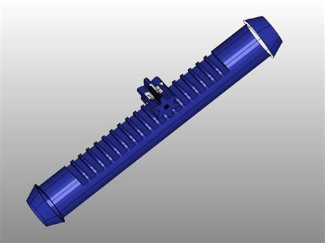 Rack And Pinion Cad Model by Rack And Pinion Steering Rack Pro Engineer Wildfire Stl