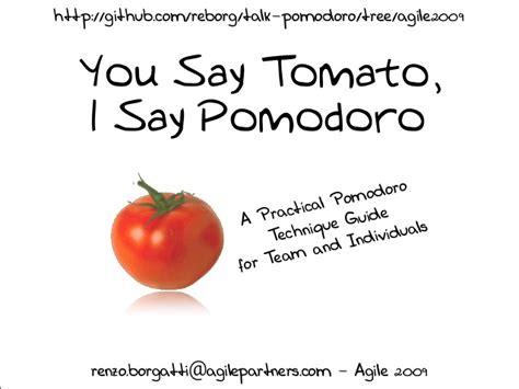 You Say Tomato I Say Tomato by You Say Tomato I Say Pomodoro