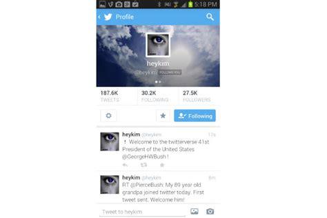 imagenes guardadas twitter android las novedades de la actualizaci 243 n de twitter para ios y